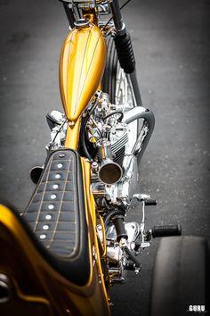 The Conquistador , 1967 Triumph Pre Unit Trike by Ryan Mullion (fro. Triumph Chopper, Sportster Chopper, Triumph Bobber, Custom Moped, Custom Trikes, Custom Choppers, Small Motorcycles, Custom Motorcycles, Chopper Motorcycle