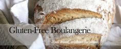 Gluten Free Boulangerie.  Will need to account for removing eggs.  Might be a good recipe to try Expandex in.
