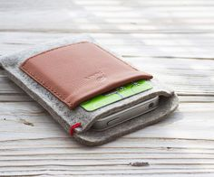iPhone Wallet Case – Grey - PuurCo