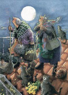 Веселите баби – уникално забавни илюстрации | High View Art