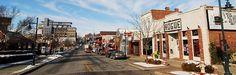 Dickson Street - - Fayetteville, Arkansas