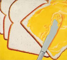 James Rosenquist, White Bread, 1964 Oil on canvas, x Cultura Pop, American Consumerism, Lino Ventura, James Rosenquist, Pop Art Movement, Art Students League, National Gallery Of Art, David Hockney, Famous Art