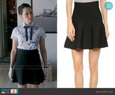 Joan's black skirt on Elementary. Outfit Details: http://wornontv.net/54242/ #Elementary