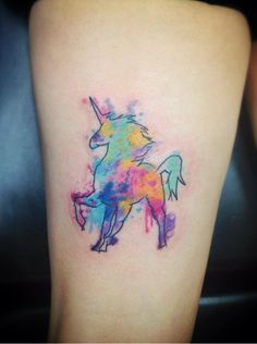 realistic unicorn tattoos - Google Search