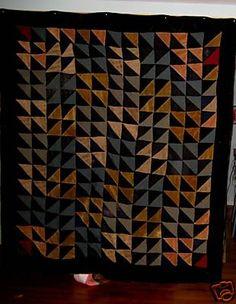 Antique African American Quilt   eBay