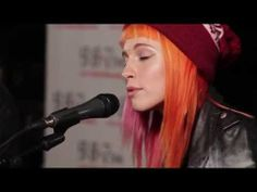 ▶ Paramore Performs Misery Business GRAMMY'S 98 7 ACOUSTIC LIVE PERFORMANCE 2013) - YouTube