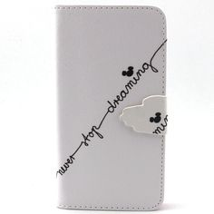 12 Style Silver Sandy Beach Cute Dog Giraffe Leather Flip Wallet With Card Slots Phone Cases For Samsung Galaxy Core LTE G386F