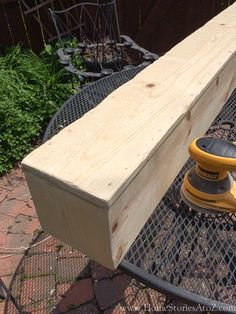 how to build beam mantel-6