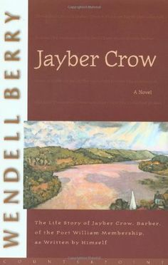 Jayber Crow by Wendell Berry. This is the second time I've read this life story of a bachelor barber living in Port William Kentucky. It is poetic and philosophical. I hope to read it many more times before I die.