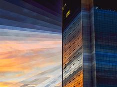 glassy sunset in time in motion by fong qi wei