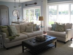 The Lilypad Cottage: Living Room