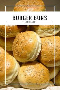 Burger Buns mit Sesam