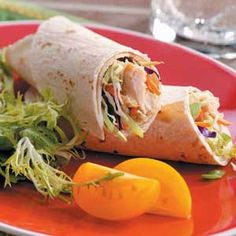 Chicken Satay Wraps: These are quick and easy!