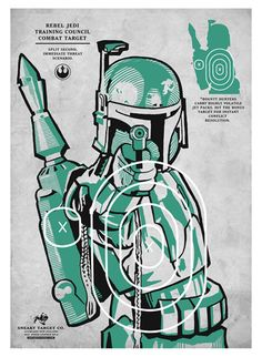 Star Wars Shooting Target Prints