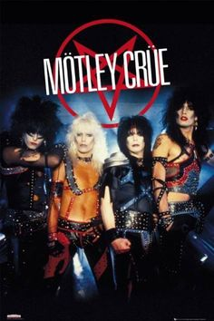 Mötley Crüe is an American heavy metal band formed in Los Angeles, California, in The group was founded by bassist Nikki Sixx and drummer Tommy Lee, who were later joined by guitarist Mick Mars, and vocalist Vince Neil. Nikki Sixx, Hair Metal Bands, 80s Hair Bands, Girls Girls Girls, Boys, 80s Rock Bands, Cool Bands, 1980s Bands, Glam Rock