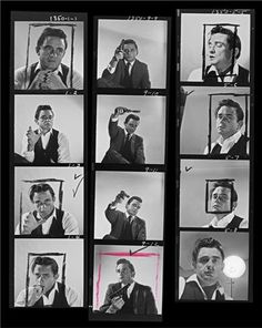 Johnny Cash, Los Angeles, CA, August 1960. Photo taken by Leigh Wiener