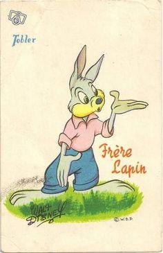 Carte postale publicitaire TOBLER walt disney n 58 Collection Doubs - leboncoin.fr