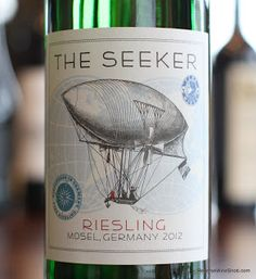 The Seeker Riesling 2012 - An Excellent Match For Spicy Asian Food. Invite a German to dinner the next time you grab that Chinese or Thai takeout. http://www.reversewinesnob.com/2013/08/the-seeker-riesling.html