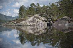 Into The Landscape, Seljord, Norway / Rintala Eggertsson Architects © Dag Jenssen