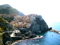 Cinque Terre, Italy- was one of the most beautiful/my favorite places in the world!!! and I took this myself :)