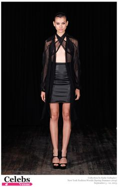 Katie Gallagher (Spring-Summer 2014) R-T-W collection at New York Fashion Week