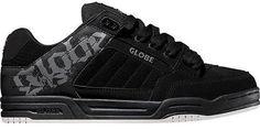 Globe Skate Shoes TILT BLACK/CHARCOAL/WHITE #Globe #Skateboarding Men's size 8