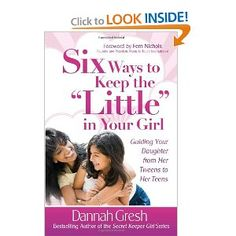 "A great read for moms/dads of ""tween"" girls."