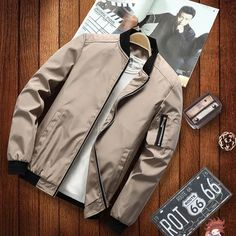 New Japan Style Casual Bomber Jacket – 4launt