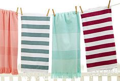 A sophisticated change for Beach Towels