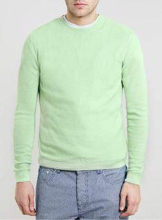 Green LA Mesh Jumper