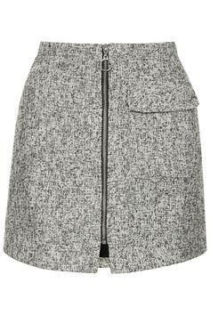 PETITE Boucle Patch Pocket Pelmet Skirt - Topshop