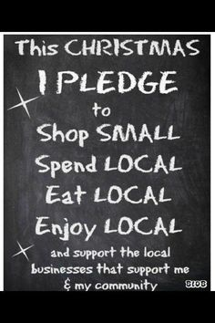 A great pledge for independent retailers to promote!
