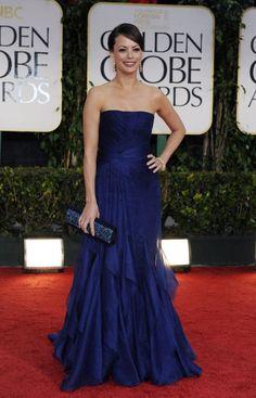 Bernice Bejo in Gucci Golden Globes 2012