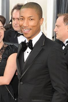 Pharrell Williams, American singer-songwriter and music producer. So very, very talented, passionate, humble and kind... Amazing!