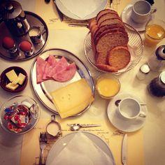 Breakfast in Amsterdam.