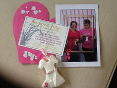 Some goodies from Ali's Pink Ribbon Breakfast! Breakfast Ideas, Fundraising, Goodies, Ribbon, Frame, Pink, Inspiration, Sweet Like Candy, Tape
