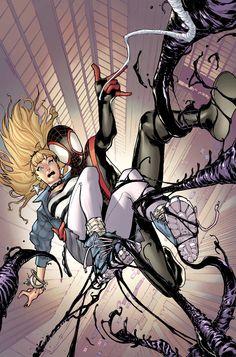 Ultimate Comics Spider-Man Vol.2 #19 Cover By: Rainer Beredo & Sara Pichelli.