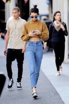 bursting on the scene in boyfriend jeans