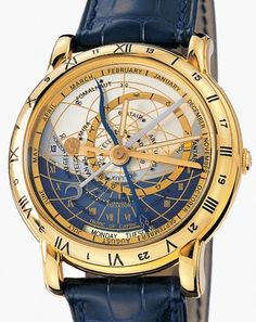 Ask someone wearing a Ulysse Nardin Astrolabium Galileo Galilei watch what time it is, and they may be forced to flash their wrist at you rather than respond. So what time is it? Your guess is as good as mine. While I can figure it. Amazing Watches, Beautiful Watches, Cool Watches, Rolex Watches, Dream Watches, Fine Watches, Ulysse Nardin, Bell Ross, Jaco