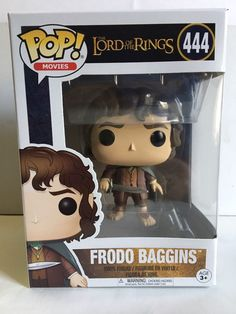 Funko POP! Movies The Lord of The Rings FRODO BAGGINS 444 Vinyl Figure New | eBay