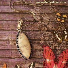 MettaMoon Moonstone Pendant Necklace