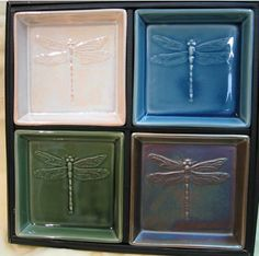 Japanese Dishes - Dragonfly Dish Set I have these and love them. :)