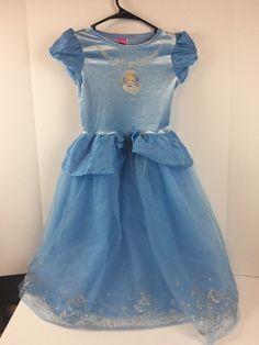 Disney Cinderella Princess Dress Costume Size 6x Blue MTB #Disney #Dress
