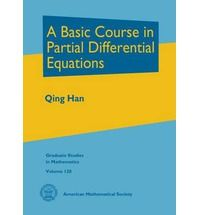 A basic course in partial differential equations / Qing Han. 2011. Máis información: http://www.ams.org/bookstore-getitem/item=GSM-120