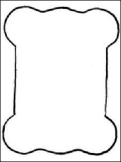 Template for ribbon or thread holders. Height: 7 cm.