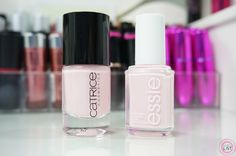 Blogbeitrag zum essie 'romper room' und Catrice Nagellack '97 Love Affair in Bel Air'