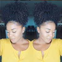 High Puff on Natural Hair in 10 Minutes Natural Hair Puff, Natural Hair Types, Natural Styles, Natural Hair Inspiration, African American Hairstyles, Relaxed Hair, Black Women Hairstyles, Braided Hairstyles, Hairdos