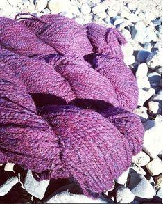 "229a2b4fef4 Briggs   Little Woolen Mills on Instagram  ""Loving how  maritimefamilyfiber  captured our Mulberry colourway! Repost from  maritimefamilyfiber"