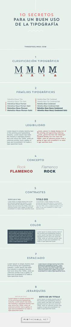 8 Secretos para un buen uso de la tipografía