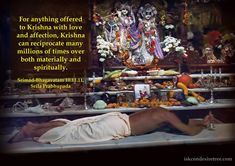 Reciprocation by Lord Krishna  For full quote go to: http://quotes.iskcondesiretree.com/srila-prabhupada-on-reciprocation-by-lord-krishna/  Subscribe to Hare Krishna Quotes: http://harekrishnaquotes.com/subscribe/